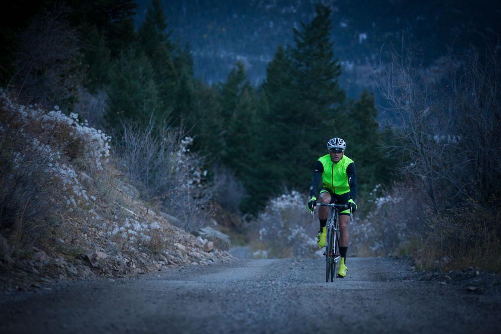 reflective cycling vest sport at night safety